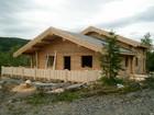 Bygging av Kvilstoga laftehytte