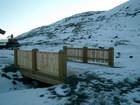 Trebru konstruert og bygget av Baltaz