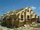 Laftehytte byggeprosessen og konstruksjoner