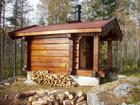 Jegerens anneks i norsk skog, designet og bygget av Baltaz lag