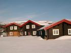Tradisjonell norsk laftehytter