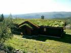 Fasade av Bitihorn Laftehytte (2)