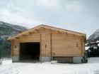 Laftet garasje laget av Baltaz