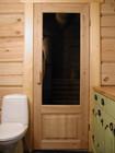 Badstue WC og innvendige dører