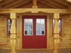Main entrance doors