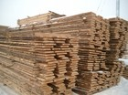 Pinewood boards widely used in the construction of laftehytte