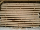 Eneste vinter kutte tømmeret brukes til produksjon av laftehytte