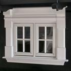 Laftet anneks vinduer