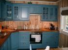 Kjøkken av Vestlia stavlaft hytte