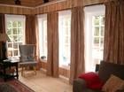 Stue av Vestlia stavlaft hytte
