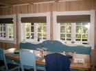 Spiseplass av Vestlia stavlaft hytte