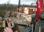 Montering av stavlaft hytte (utv.)