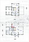Plan av Vestlia stavlaft hytte