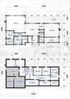 Plan av Kvitfjell laftehytte