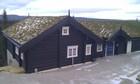 Fasade av Kvitfjell laftehytte (1)