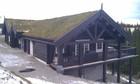Fasade av Kvitfjell laftehytte (2)