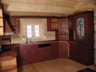 Vakkert kjøkken møbler i Bygdin laftehytte