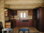 Kjøkken i Bygdin laftehytte