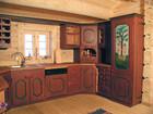 Individuelt utformet kjøkken møbler i Bygdin laftehytte