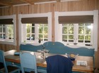 Dining place in the Vestlia laftehytte