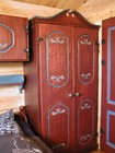 Wardrobe in the bedroom of Bitihorn laftehytte