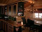 Kitchen bar of Kvilstoga laftehytte