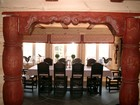 Dining room of Beito laftehytte