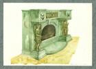 Peis kunstverk egnet for personlig utforming av laftehytte eller stavlaft hytte